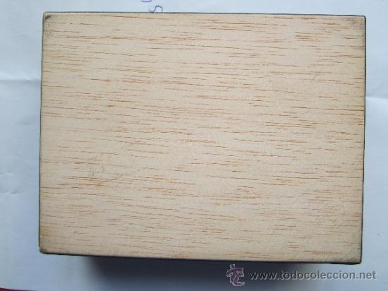 Cajas y cajitas metálicas: caja de marqueteria para cartas , baraja española , buena conservacion - Foto 7 - 35279734