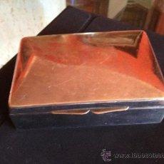 Cajas y cajitas metálicas: CAJA ALPACA. Lote 35795449