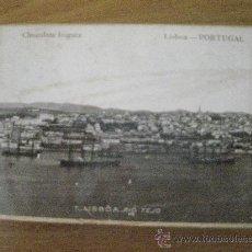 Boîtes et petites boîtes métalliques: CAJITA DE CHOCALATES INIGUEZ (PORTUGAL). Lote 35827498