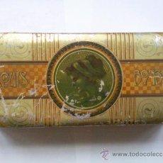 Cajas y cajitas metálicas: CAJA CHAPA LITOGRAFIADA - EXQUIS BOMBONES, MEDIDAS 19,5 X 8,5 X 4. Lote 35968815
