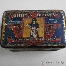 Cajas y cajitas metálicas: CAJA METALICA BILITINES CABREROS CAJA METALICA-9. Lote 36253372