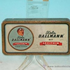 Cajas y cajitas metálicas: KOLA DALLMANN, CAJA DE CHAPA. ALEMANIA 1930 - 1940.. Lote 36441661