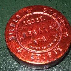 Cajas y cajitas metálicas: CAJITA HOJALATA METALIZADA.. Lote 36474287