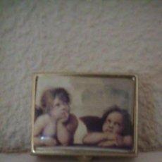 Cajas y cajitas metálicas: PASTILLERO. Lote 36487561