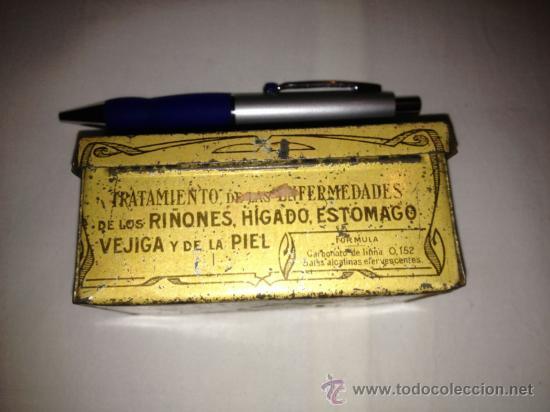 Cajas y cajitas metálicas: CAJA METALICA LITHINES DEL DR. GUSTIN.AÑOS 20-30 - Foto 3 - 69109321