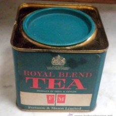 Cajas y cajitas metálicas: CAJA METALICA TE. ROYAL BLEND TEA. Lote 36507260