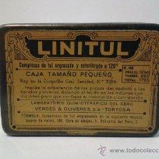 Casse e cassette metalliche: CAJA DE LATA LINITUL 8,5 X 6 CM.. Lote 36533348