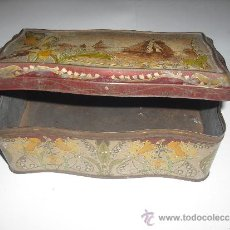 Blechdosen und Kisten - caja metálica antigua - 36774566