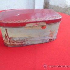 Cajas y cajitas metálicas: CAJA METALICA DE CARAMELOS EL AVION . Lote 36870106