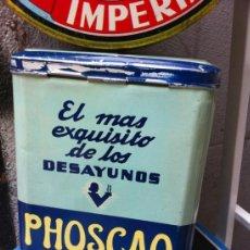 Cajas y cajitas metálicas: CAJA CHAPA PHOSCAO. Lote 37087385