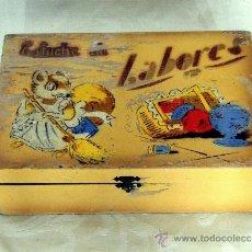 Cajas y cajitas metálicas: ANTIGUA CAJA DE LABORES, COSTURERO, . Lote 37518773