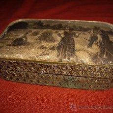 Cajas y cajitas metálicas - CAJA AÑOS 40-50 - 37620396