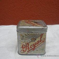 Cajas y cajitas metálicas: CAJA DE TÉ ROYAL.. Lote 37650703