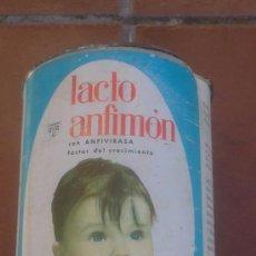 Cajas y cajitas metálicas: BOTE ALIMENTACION RECIEN NACIDOS LACTO ANFIMON,ULTA.. Lote 37682919