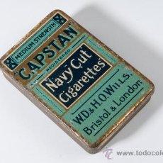 Blechdosen und Kisten - CAJA DE METAL -NAVY CUT CIGARETTES- CAPSTAN, DE LONDRES - 37891787