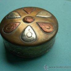 Cajas y cajitas metálicas: CAJITA METÁLICA. 5 CM DE DIÁMETRO. Lote 38118031