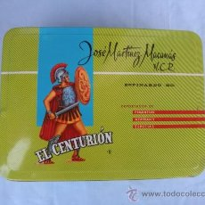 Cajas y cajitas metálicas: LATA DE PIMENTÓN EL CENTURIÓN. JOSÉ MARTINEZ MACANÁS. ESPINARDO. MURCIA.. Lote 38181779