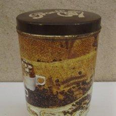 Cajas y cajitas metálicas: PRONTO CAFÉ - ANTIGUO BOTE DISPENSADOR DE CAFÉ.. Lote 109346191