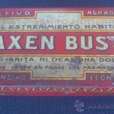 Cajas y cajitas metálicas: CAJA DE LATA DE LAXEN BUSTO - TAL Y COMO SE VEN EN LAS FOTOS . . Lote 38326864