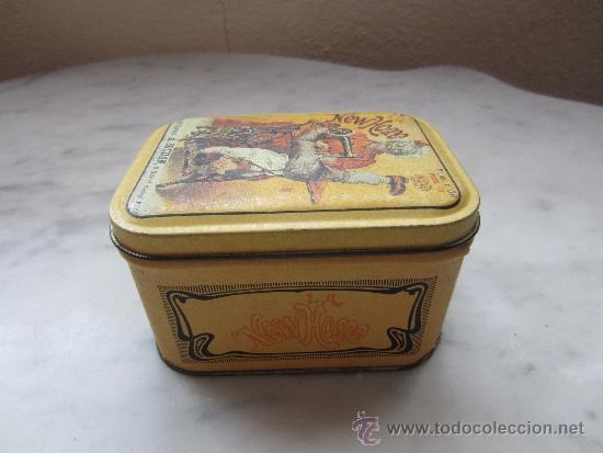 CAJA DE HOJALATA LITOGRAFIADA (Coleccionismo - Cajas y Cajitas Metálicas)