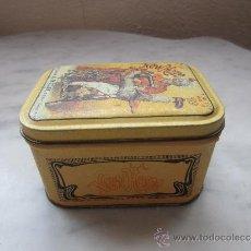 Cajas y cajitas metálicas: CAJA DE HOJALATA LITOGRAFIADA . Lote 38317046