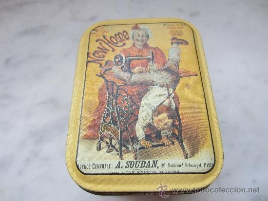 Cajas y cajitas metálicas: caja de hojalata litografiada - Foto 2 - 38317046