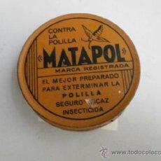 Cajas y cajitas metálicas: CAJA METALICA MATAPOL CAJA METALICA-42. Lote 38368826