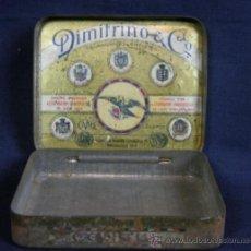 Blechdosen und Kisten - caja metálica tabaco Dimitrino & co Egipto El Cair manufacture de cigarettes - 38466957