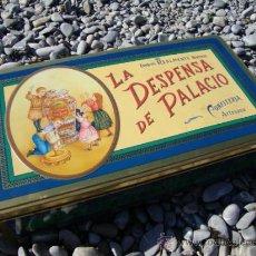 Cajas y cajitas metálicas: CAJA HOJALATA LA DESPENSA DE PALACIO. Lote 38650869