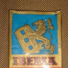 Cajas y cajitas metálicas: CAJA DE CUCHILLAS IBERIA,SIN ABRIR,ORIGINAL,,CONTIENE 10 PAQUETES DE CUCHILLAS. Lote 38672383