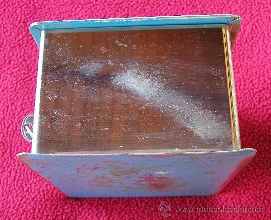 Cajas y cajitas metálicas: ANTIGUA CAJA DE CAUDALES O CAJA FUERTE CON JUEGO DE DOS LLAVES MARCA JOMA FUNCIONANDO DÉCADA 50-60 - Foto 7 - 41305428