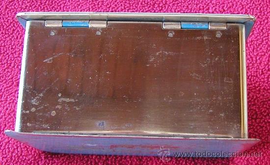 Cajas y cajitas metálicas: ANTIGUA CAJA DE CAUDALES O CAJA FUERTE CON JUEGO DE DOS LLAVES MARCA JOMA FUNCIONANDO DÉCADA 50-60 - Foto 10 - 41305428