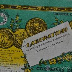 Cajas y cajitas metálicas: COMPRESAS DE GASA. DOCTOR CEA. VALLADOLID. FARMACIA. PRINCIPIOS DEL XX. Lote 38711923