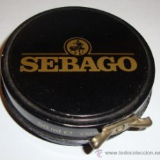 Cajas y cajitas metálicas: (K) CAJA DE CREMA ZAPATOS BETUN VACIA SEBAGO. Lote 38776477