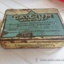 Cajas y cajitas metálicas: ANTIGUA LATA CALCIUM SANDOZ . Lote 38795840