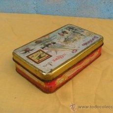 Cajas y cajitas metálicas: ANTIGUA CAJA CHAPA. Lote 39113596