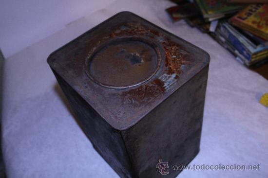 Cajas y cajitas metálicas: Lata de pimenton. Hijos de Felipe Lopez Garcia. 26x18 Caceres. Ver fotos - Foto 7 - 39128189