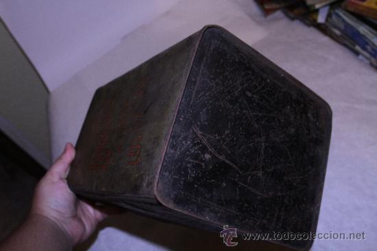 Cajas y cajitas metálicas: Lata de pimenton. Hijos de Felipe Lopez Garcia. 26x18 Caceres. Ver fotos - Foto 6 - 39128189