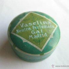 Cajas y cajitas metálicas: CAJA DE VASELINA GAL.. Lote 39409513