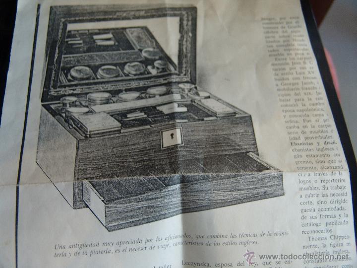 Cajas y cajitas metálicas: ESPECTACULAR CAJA-NECESER DE VIAJE MUY ANTIGUA - Foto 17 - 39445352