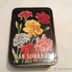 Cajas y cajitas metálicas: CAJA METALICA DE DULCE DE MEMBRILLO SAN LORENZO. PUENTE GENIL. Lote 39497708