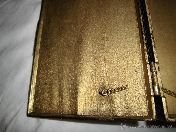 Cajas y cajitas metálicas: ANTIGUA CAJA DE BRONCE INTERIOR FORRADO EN MADERA - Foto 8 - 39767784