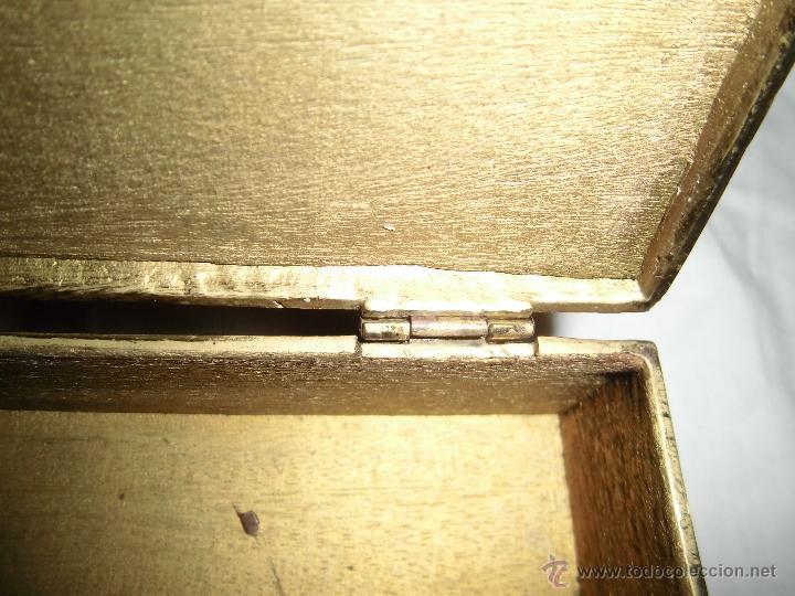 Cajas y cajitas metálicas: ANTIGUA CAJA DE BRONCE INTERIOR FORRADO EN MADERA - Foto 17 - 39767784