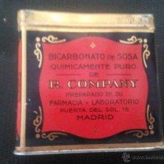 Cajas y cajitas metálicas: LATA BICARBONATO DE SOSA R. COMPANY. Lote 39868619