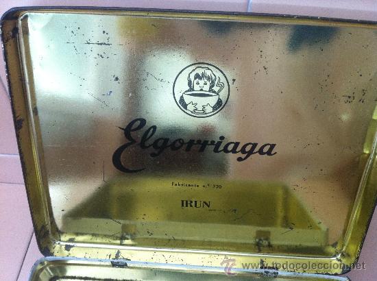 Cajas y cajitas metálicas: CAJA HOJALATA BOMBONES EL GORRIAGA. AÑOS 60 - Foto 3 - 39883765