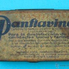 Cajas y cajitas metálicas: PANFLAVINA. BAYER. CAJA METALICA. Lote 40052472