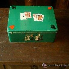 Cajas y cajitas metálicas: CAJA DE DEXTRO-CAO INDUSTRIA RIERA - MARSÁ - TIPO COLACAO. Lote 40020563