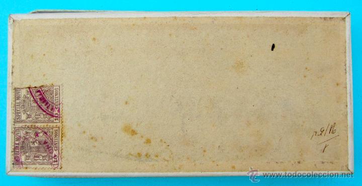 Cajas y cajitas metálicas: ROSA DE ESPAÑA. JABON SUAVE Y EMOLIENTE. RENAUD GERMAIN. BARCELONA. CAJA DE CARTON - Foto 3 - 40120796