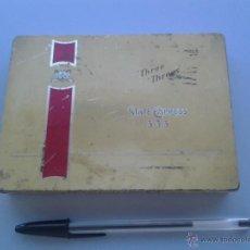 Cajas y cajitas metálicas: CAJITA TABACO STATE EXPRESS 333.. Lote 40349977