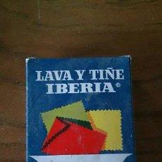 Cajas y cajitas metálicas: PAQUETE TINTES IBERIA. Lote 40473376